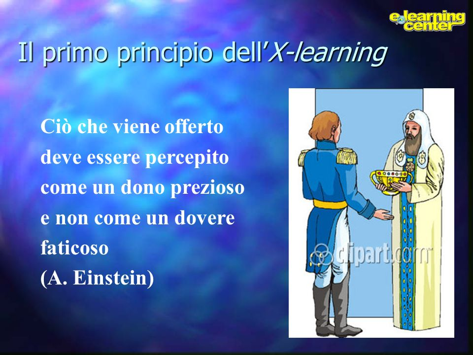 Il primo principio dell'X-learning