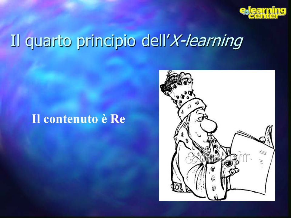 Il quarto principio dell'X-learning