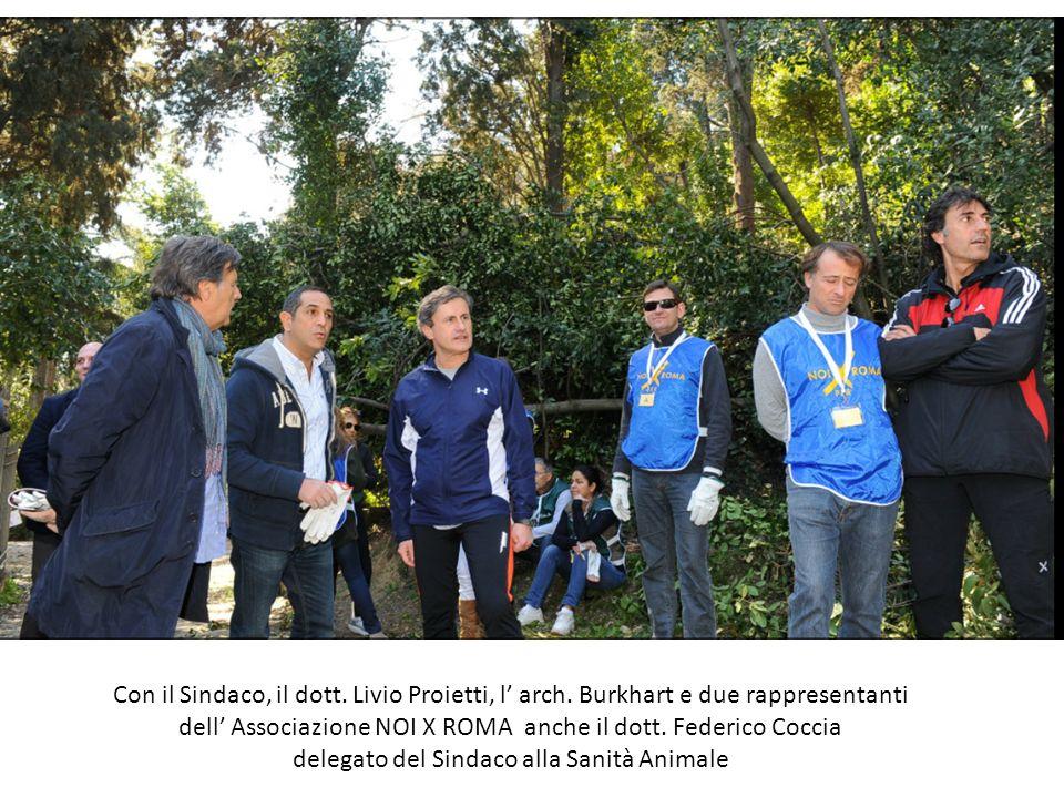 dell' Associazione NOI X ROMA anche il dott. Federico Coccia