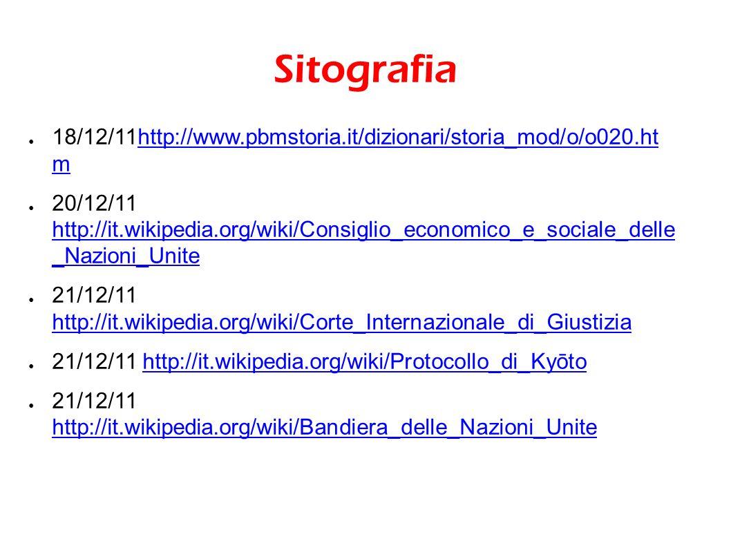 Sitografia 18/12/11http://www.pbmstoria.it/dizionari/storia_mod/o/o020.ht m.