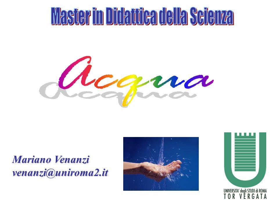 Master in Didattica della Scienza