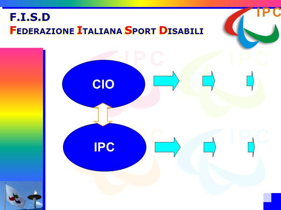 F.I.S.D FEDERAZIONE ITALIANA SPORT DISABILI