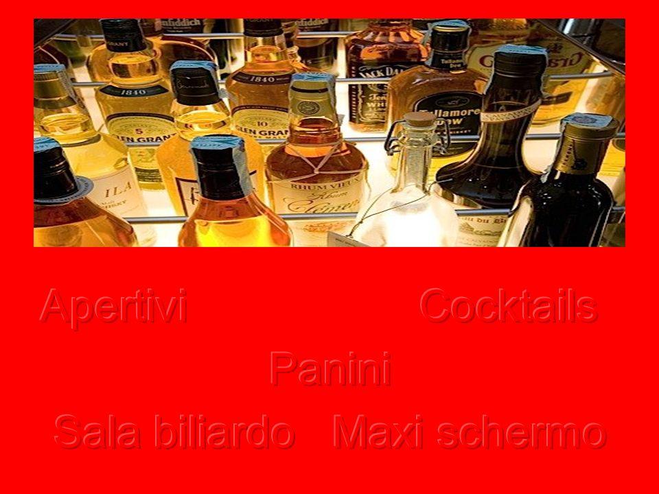 Sala biliardo Maxi schermo