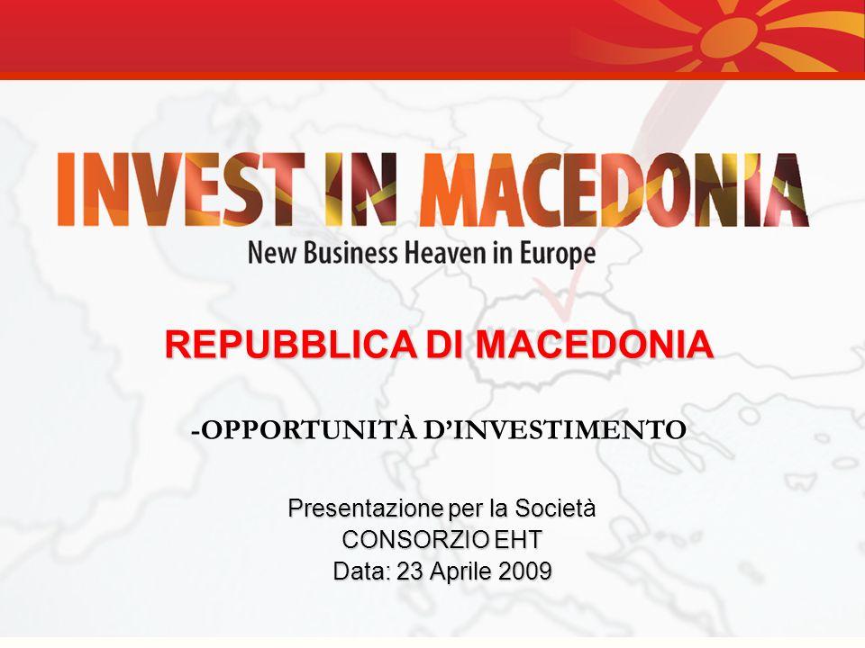 Presentazione per la Società CONSORZIO EHT Data: 23 Aprile 2009
