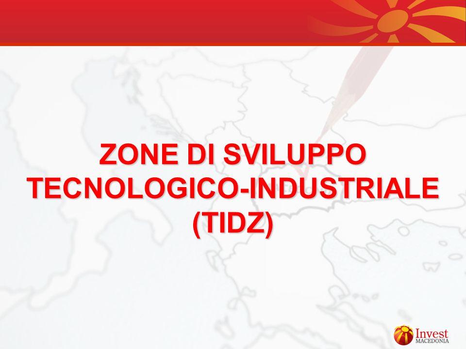 ZONE DI SVILUPPO TECNOLOGICO-INDUSTRIALE