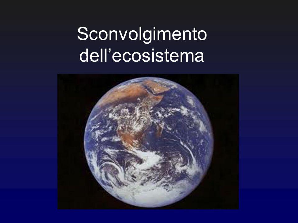 Sconvolgimento dell'ecosistema