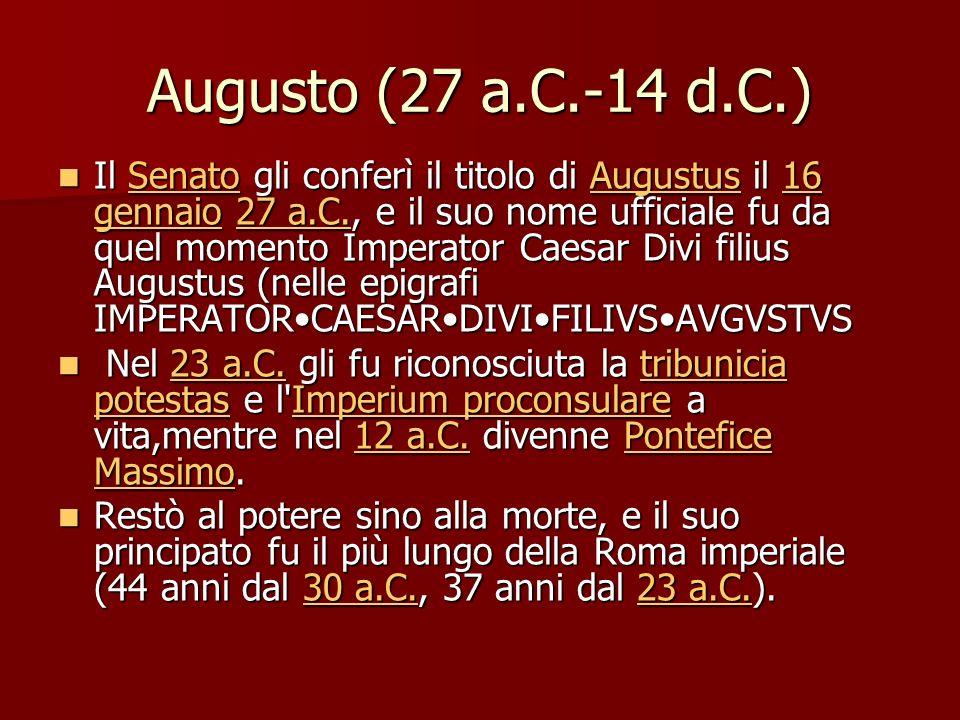 Augusto (27 a.C.-14 d.C.)