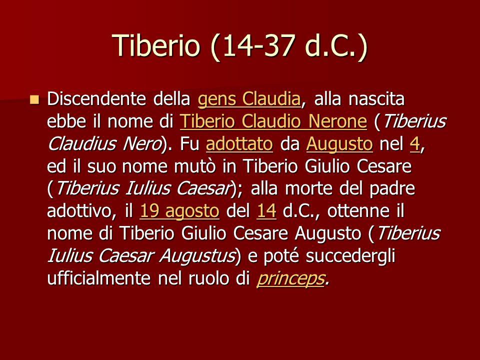 Tiberio (14-37 d.C.)