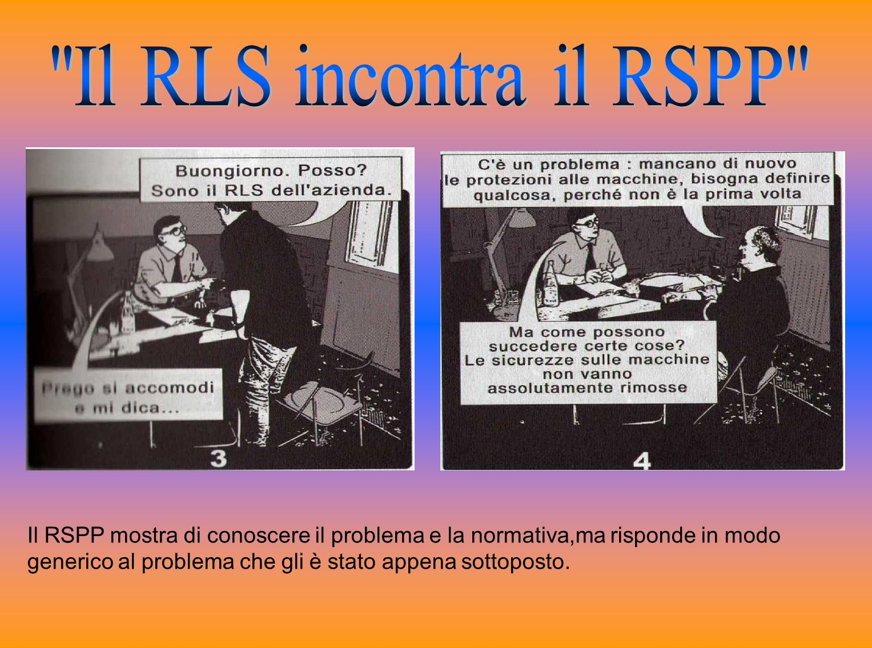 Il RLS incontra il RSPP