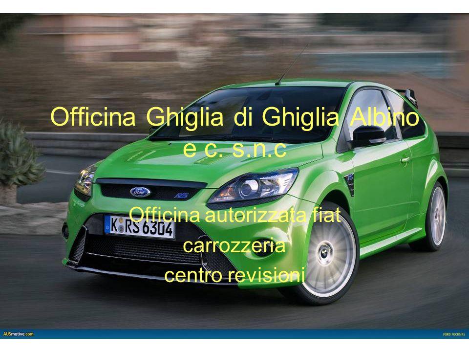 Officina Ghiglia di Ghiglia Albino e c. s.n.c