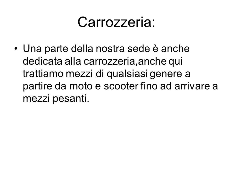 Carrozzeria: