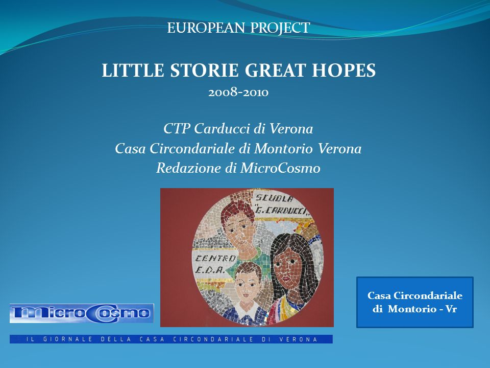 LITTLE STORIE GREAT HOPES