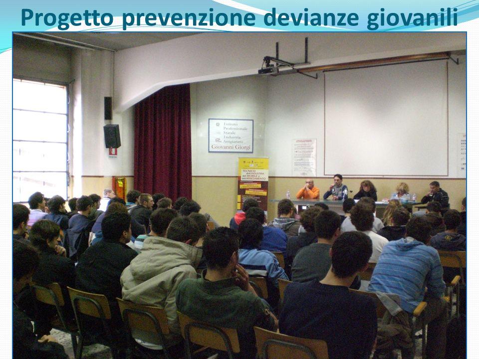 Progetto prevenzione devianze giovanili
