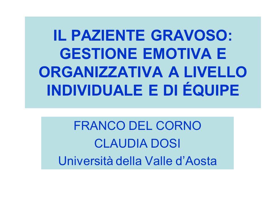 FRANCO DEL CORNO CLAUDIA DOSI Università della Valle d'Aosta