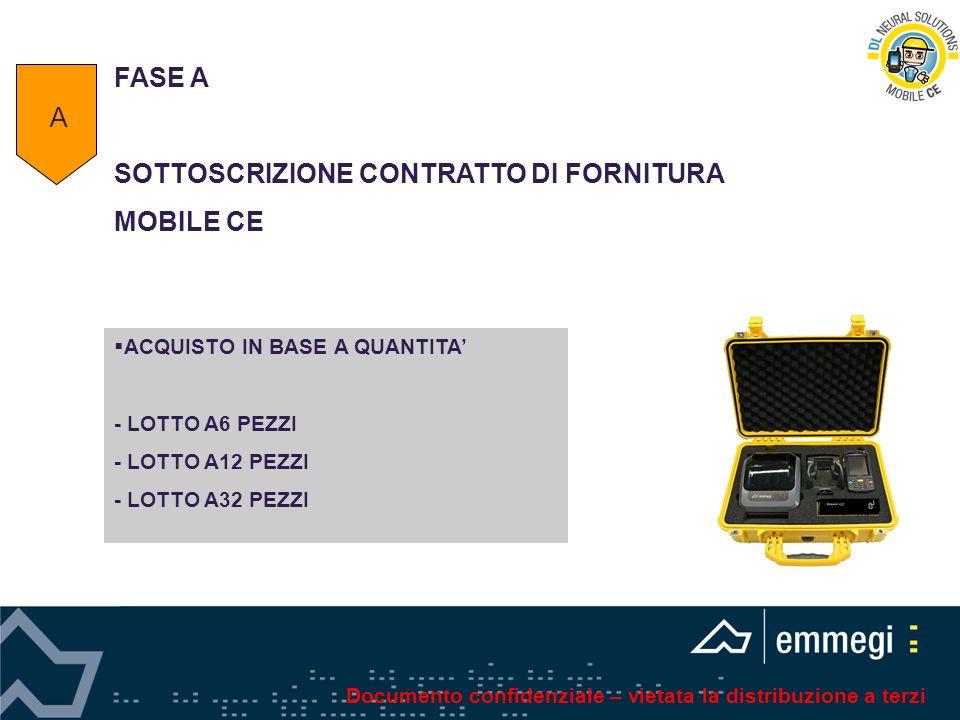 SOTTOSCRIZIONE CONTRATTO DI FORNITURA MOBILE CE A