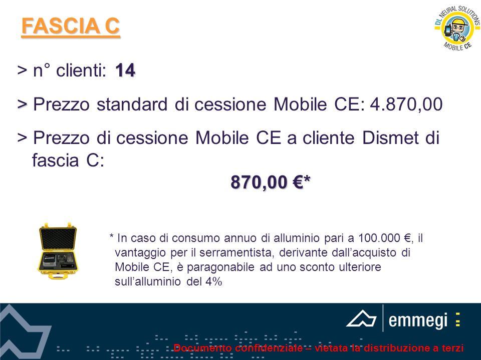 FASCIA C > n° clienti: 14