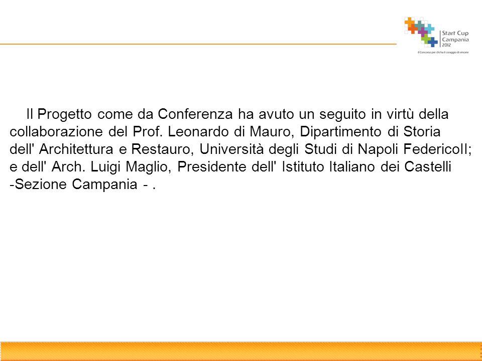 Il Progetto come da Conferenza ha avuto un seguito in virtù della collaborazione del Prof.