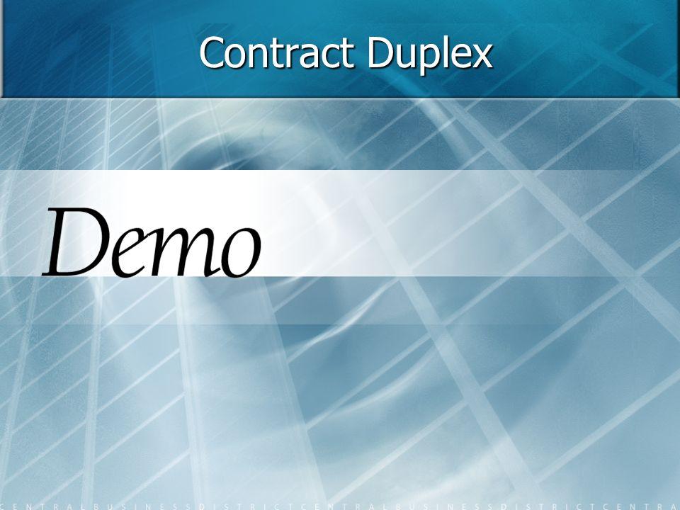 Contract Duplex 14