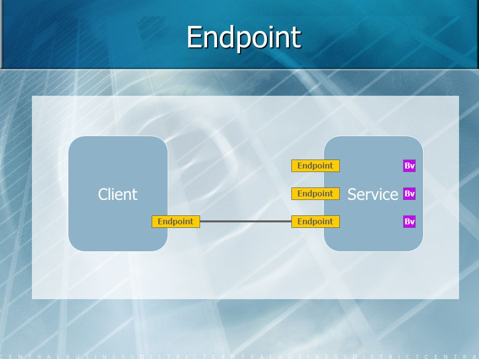 Endpoint Client Service Endpoint Bv Endpoint Bv Endpoint Endpoint Bv