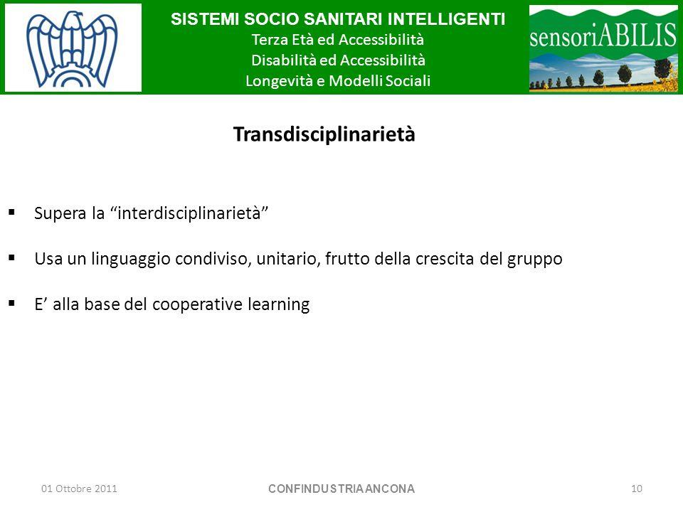 Transdisciplinarietà