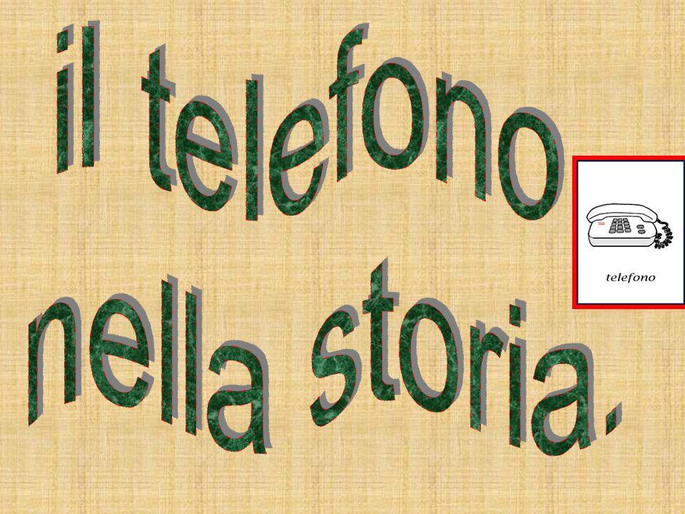 il telefono nella storia.