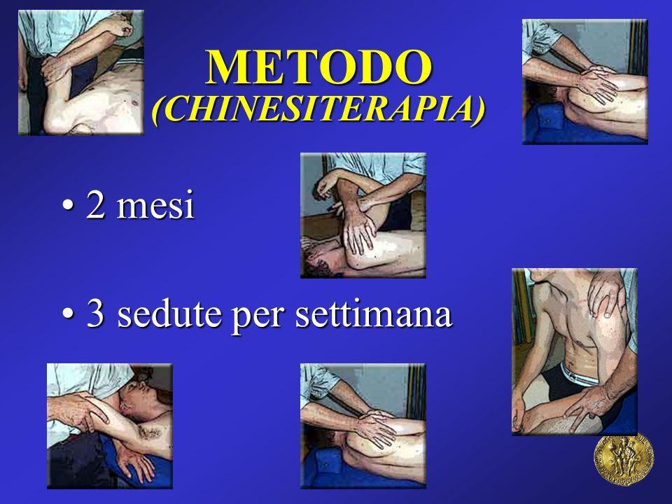 METODO (CHINESITERAPIA) 2 mesi 3 sedute per settimana