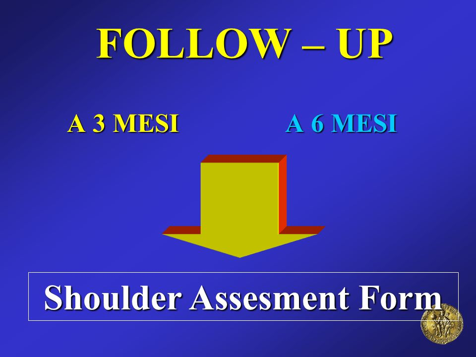 Shoulder Assesment Form