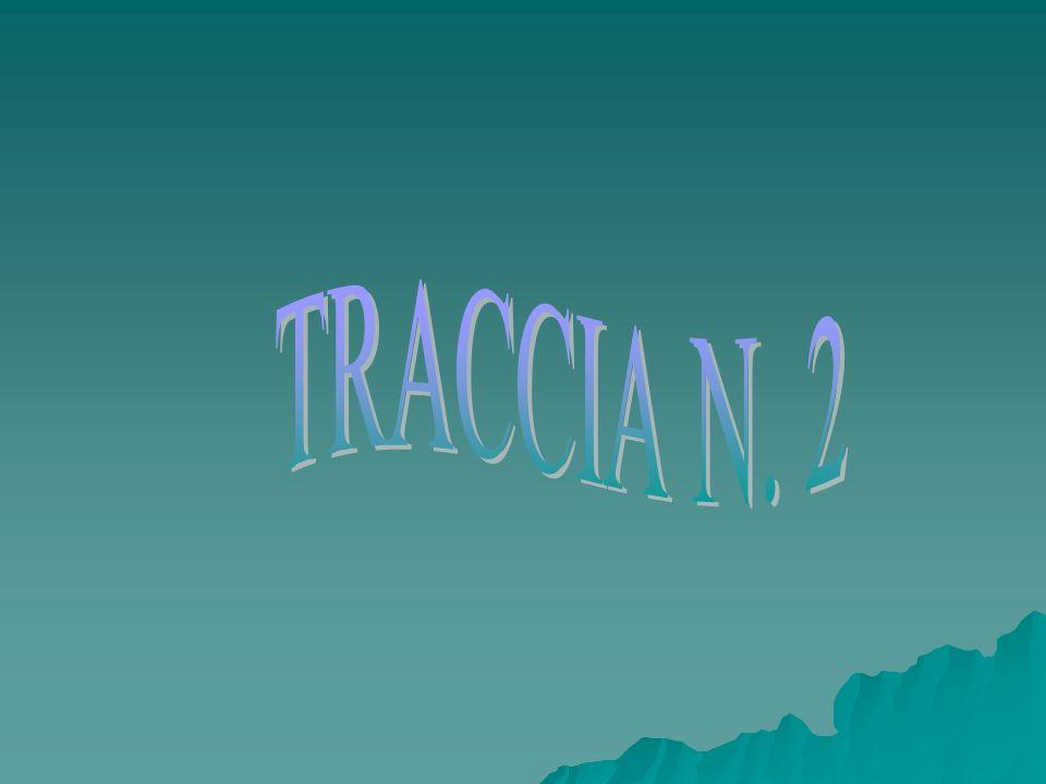 TRACCIA N. 2