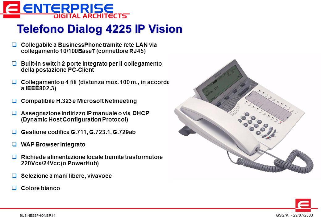 Telefono Dialog 4225 IP Vision