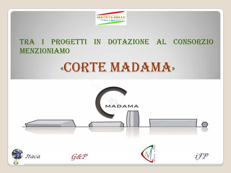 «CORTE MADAMA» Tra i progetti in dotazione al Consorzio menzioniamo