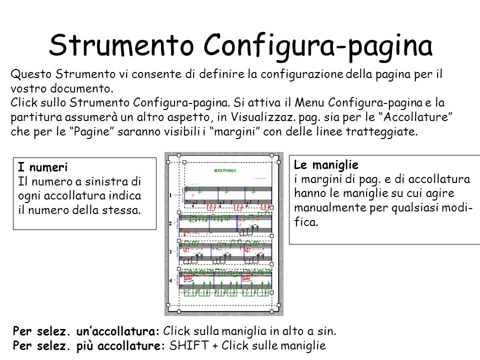 Strumento Configura-pagina