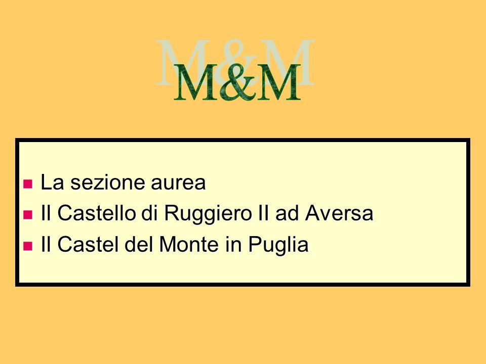 M&M La sezione aurea Il Castello di Ruggiero II ad Aversa