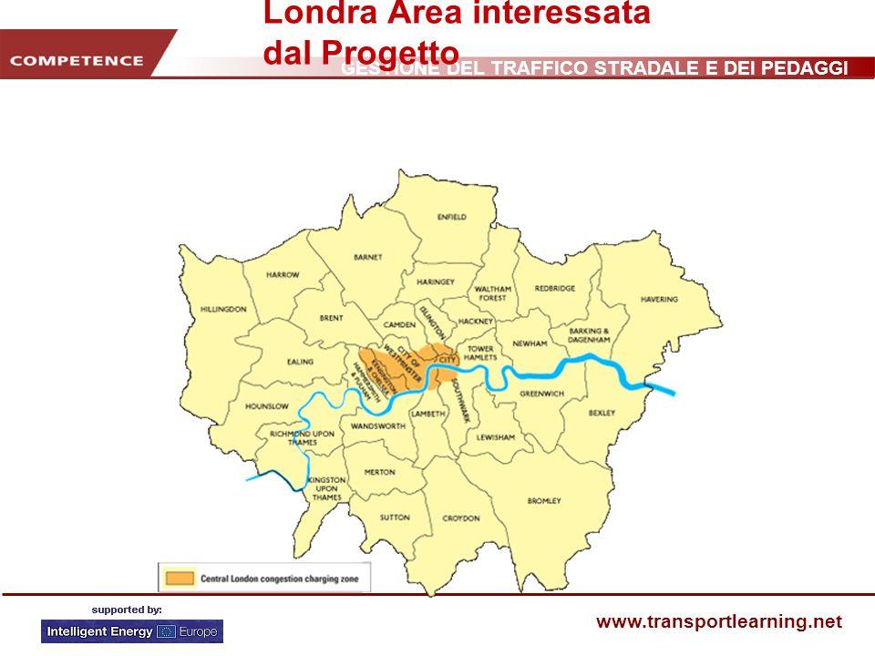 Londra Area interessata dal Progetto