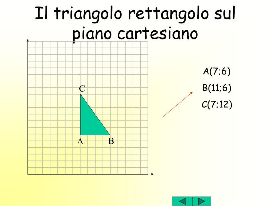 Il triangolo rettangolo sul piano cartesiano