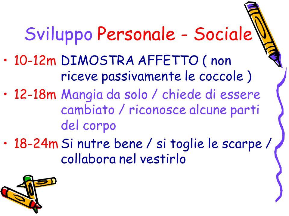Sviluppo Personale - Sociale