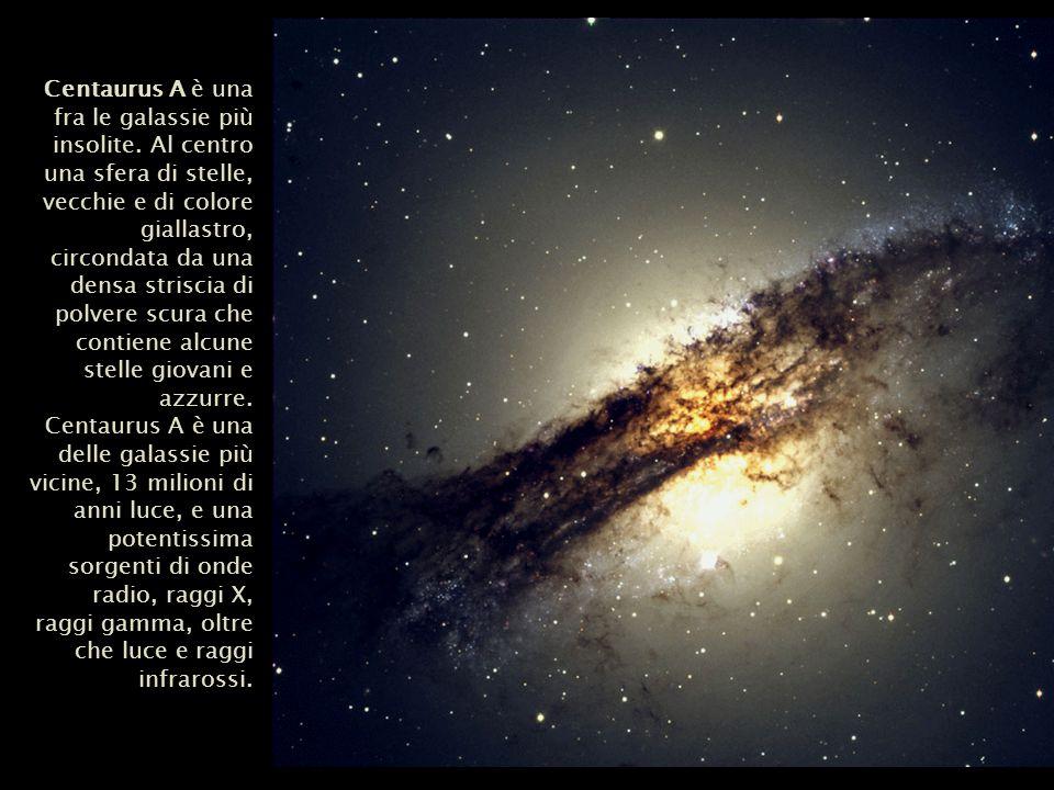Centaurus A è una fra le galassie più insolite