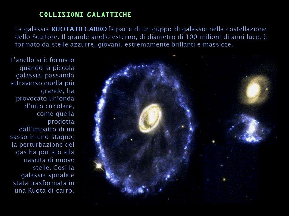 COLLISIONI GALATTICHE