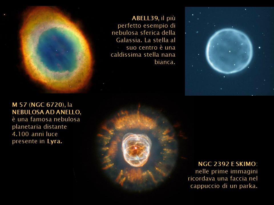 ABELL39, il più perfetto esempio di nebulosa sferica della Galassia