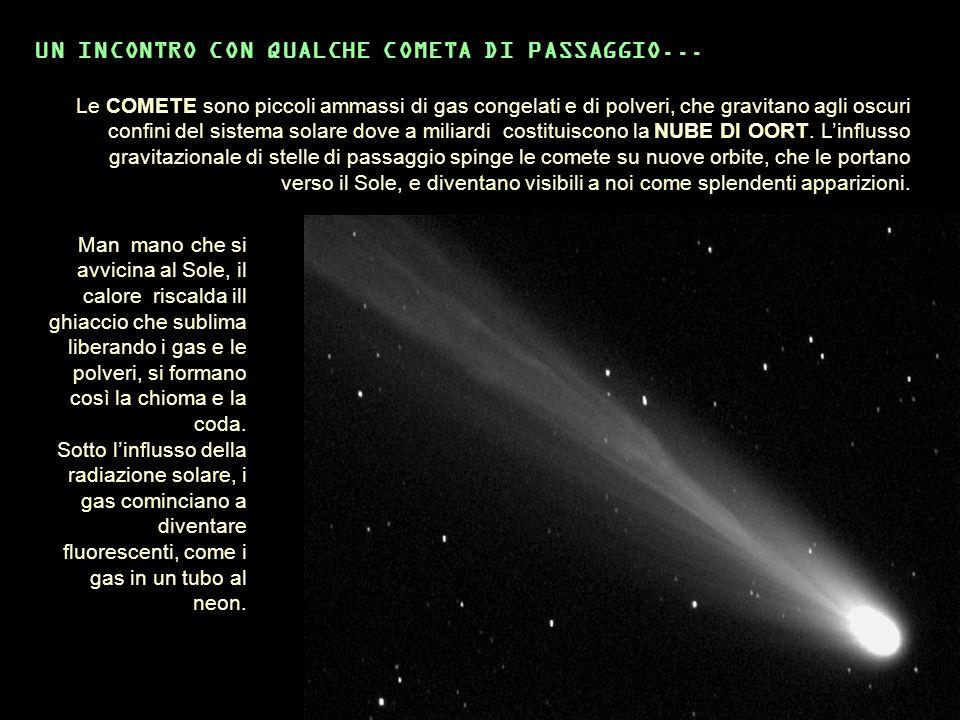UN INCONTRO CON QUALCHE COMETA DI PASSAGGIO...
