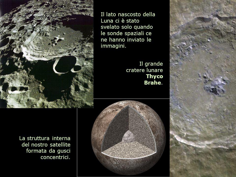 Il lato nascosto della Luna ci è stato svelato solo quando le sonde spaziali ce ne hanno inviato le immagini.