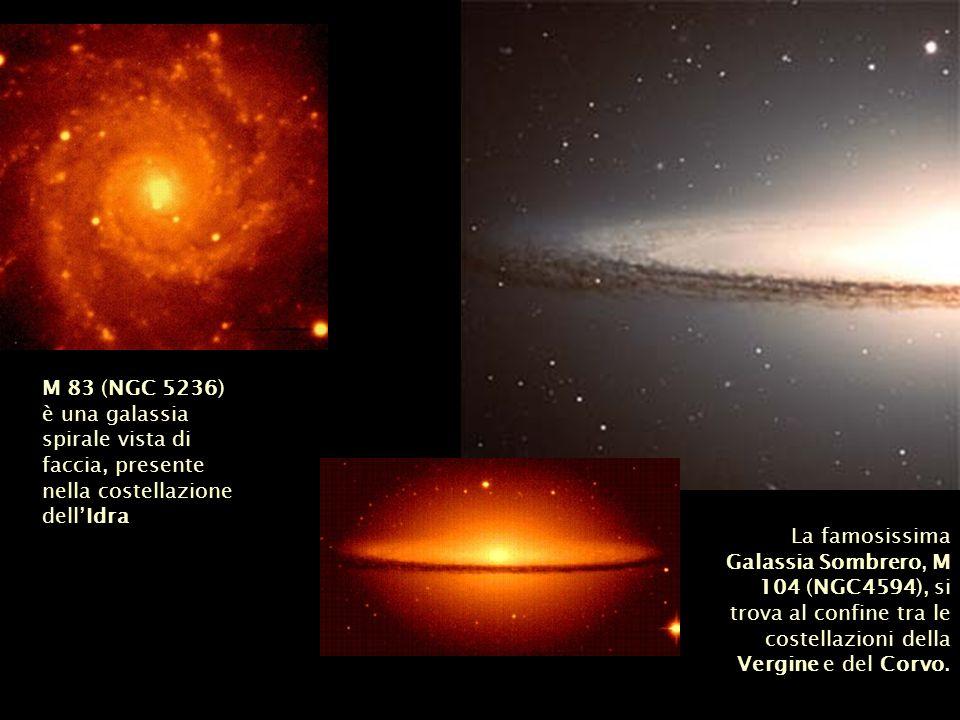 M 83 (NGC 5236) è una galassia spirale vista di faccia, presente nella costellazione dell'Idra