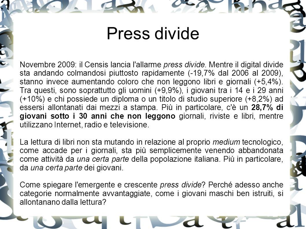 Press divide