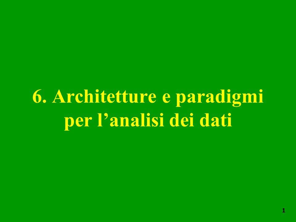 6. Architetture e paradigmi per l'analisi dei dati