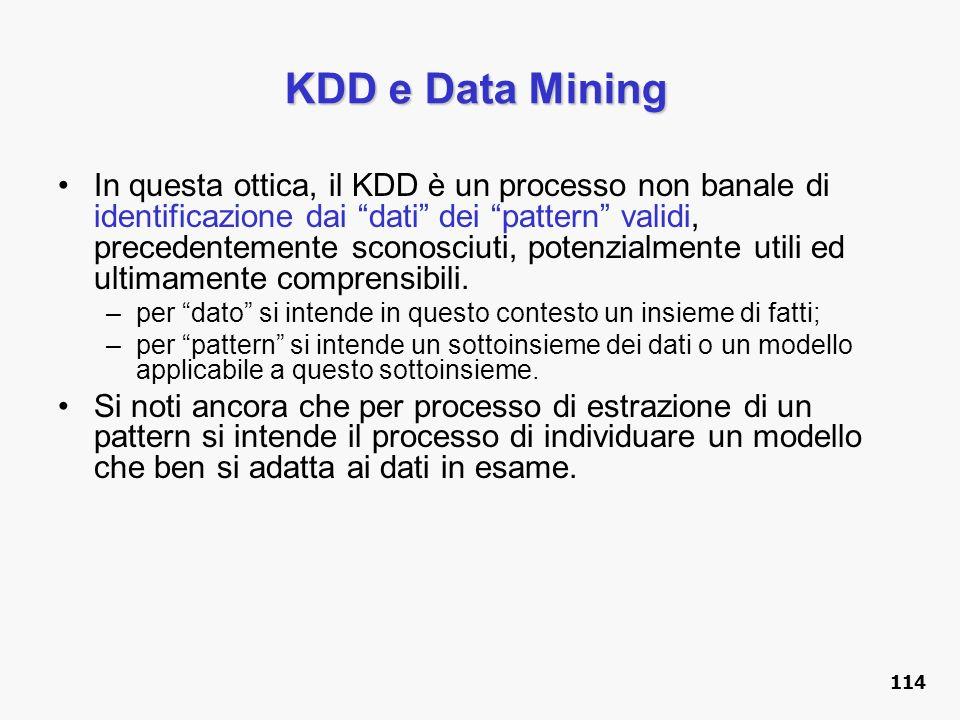 KDD e Data Mining