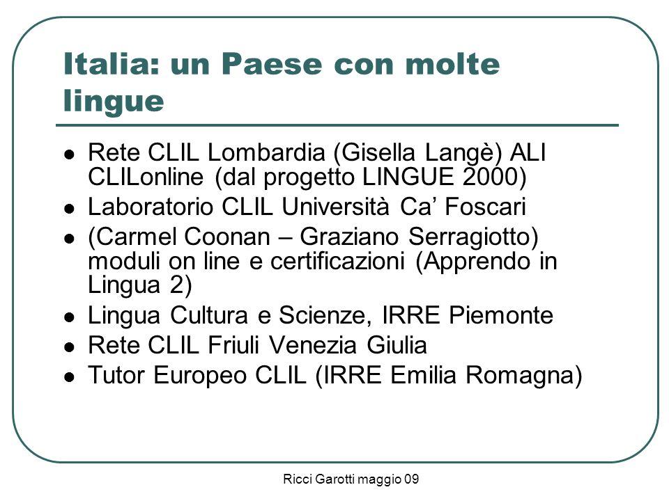 Italia: un Paese con molte lingue