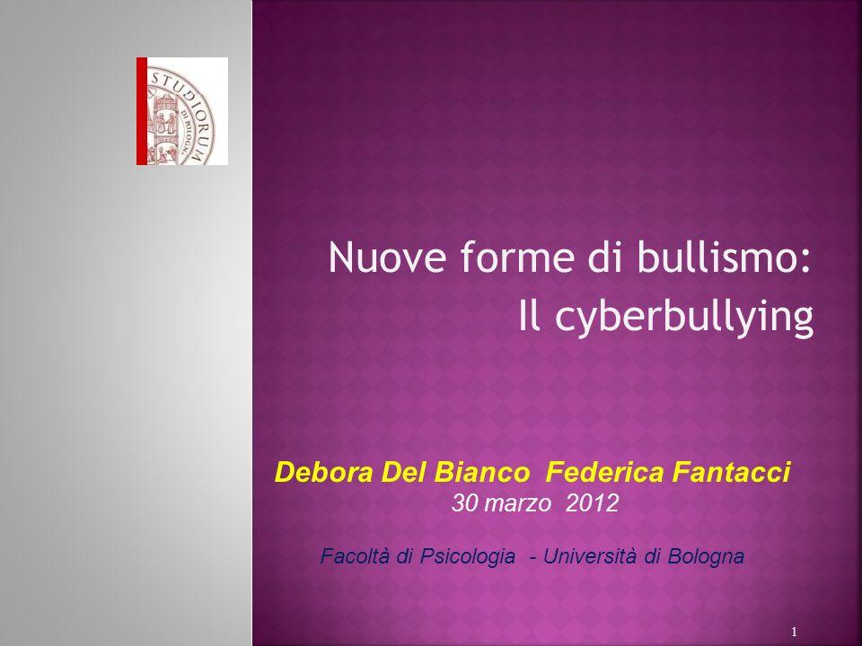 Nuove forme di bullismo: Il cyberbullying