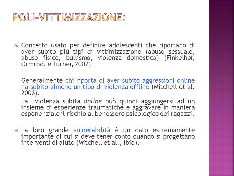 Poli-vittimizzazione: