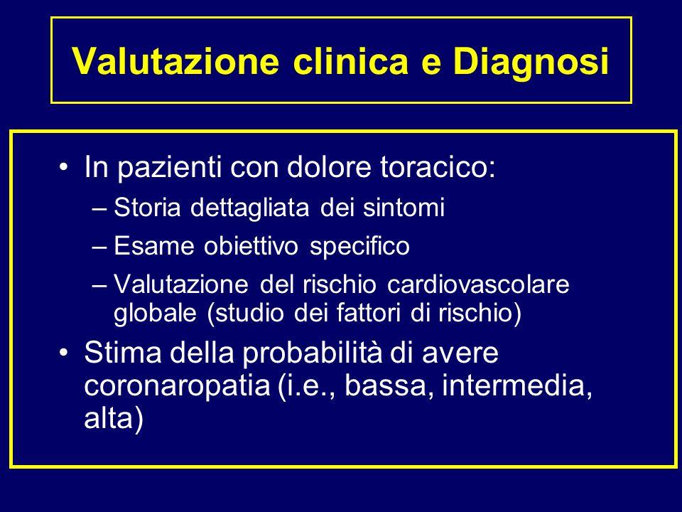 Valutazione clinica e Diagnosi