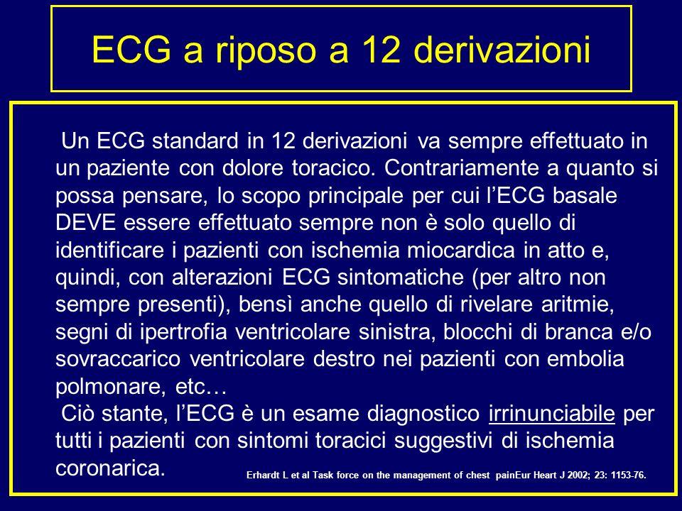 ECG a riposo a 12 derivazioni