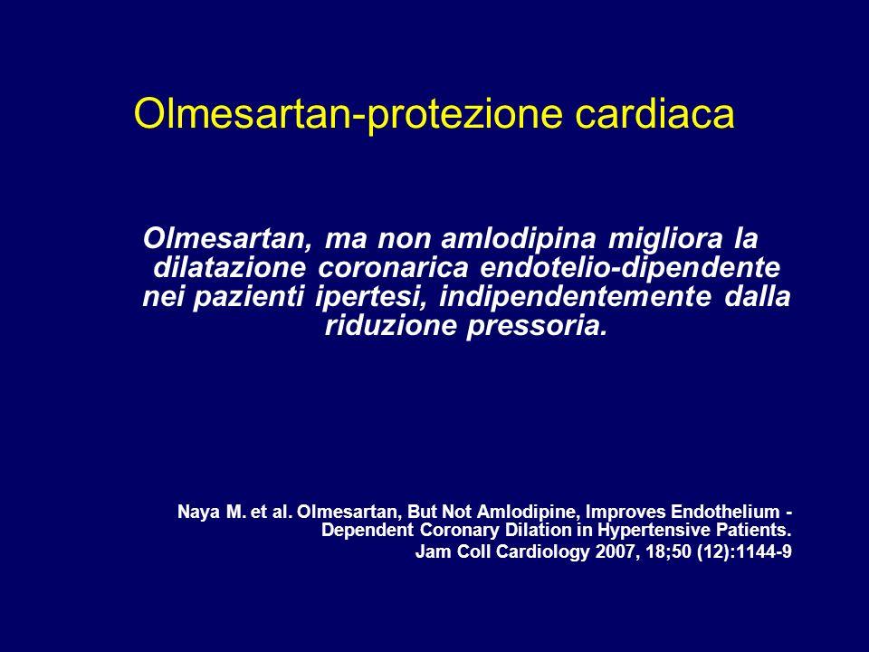 Olmesartan-protezione cardiaca